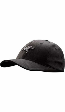 Arc'teryx Embroidered Bird Cap Black
