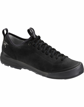 Arc'teryx Mens Acrux SL Leather Approach Shoe Black/ Black