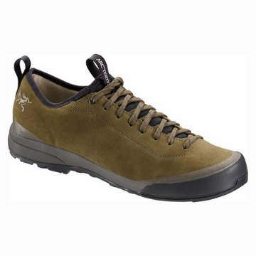 Arc'teryx Mens Acrux SL Leather Approach Shoe Totem/ Shark