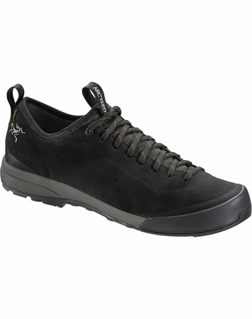 Arc'teryx Mens Acrux SL Leather GTX Approach Shoe Black/ Shark