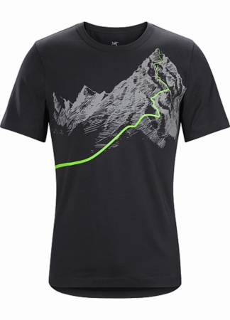 Arc'teryx Mens Afterglo Heavyweight T-Shirt Black