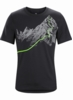Arc'teryx Mens Afterglo Heavyweight T-Shirt Black (Close Out)