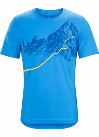 Arc'teryx Mens Afterglo Heavyweight T-Shirt Bombora (Close Out)
