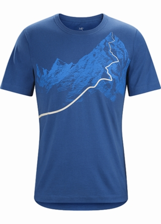 Arc'teryx Mens Afterglo Heavyweight T-Shirt Cosmic (Close Out)