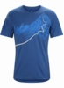 Arc'teryx Mens Afterglo Heavyweight T-Shirt Cosmic
