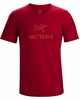 Arc'teryx Mens Arc'Word Shirt Red Beach