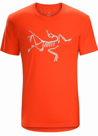 Arc'teryx Mens Archaeopteryx Short Sleeve T-Shirt Magma (Close Out)