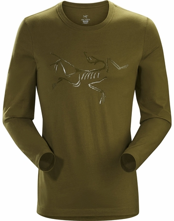 Arc'teryx Mens Archeopteryx T-Shirt Long Sleeve Roman Pine