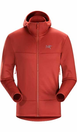 Arc'teryx Mens Arenite Hoody Sangria