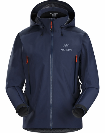Arc'teryx Mens Beta AR Jacket Midnighthawk