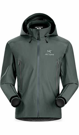 Arc'teryx Mens Beta AR Jacket Nautic Grey