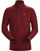 Arc'teryx Mens Delta LT Zip Neck Pompeii