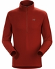 Arc'teryx Mens Delta LT Zip Neck Sangria