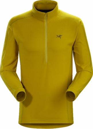 Arc'teryx Mens Delta LT Zip Neck Woad
