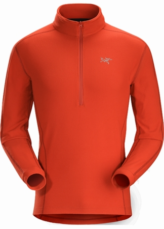 Arc'teryx Mens Delta LT Zip Vermillion (Close Out)