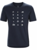 Arc'teryx Mens Hut T-Shirt Nighthawk
