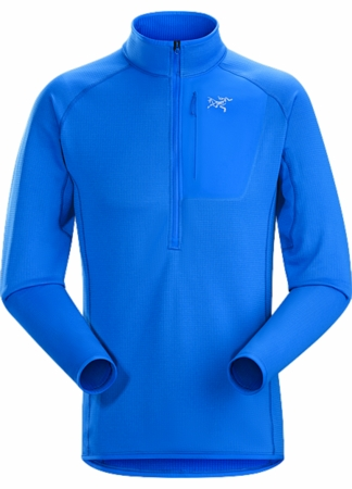 Arc'teryx Mens Konseal Zip Neck Rigel