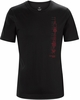 Arc'teryx Mens Schematic T-Shirt Black