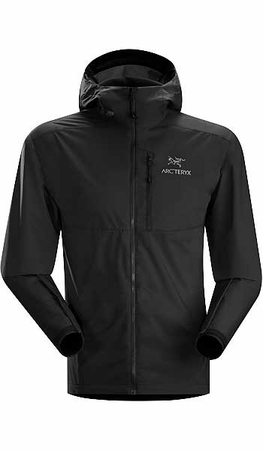 Arc'teryx Mens Squamish Hoody Black