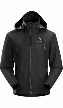 Arc'teryx Mens Beta LT Hybrid Jacket Black