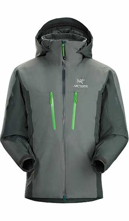 Arc'teryx Mens Fission SV Jacket Nautic Grey