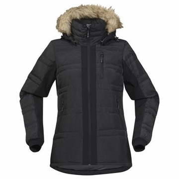 Bergans Womens Bodo Lightweight Down Coat Black