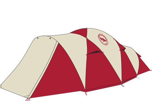 sc 1 st  Everest Gear & Big Agnes Flying Diamond 8 Person (close out)