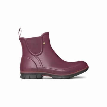 Bogs Womens Amanda Slipboot Burgundy