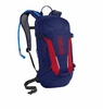 CamelBak M.U.L.E. 100 oz Pitch Blue/Racing Red