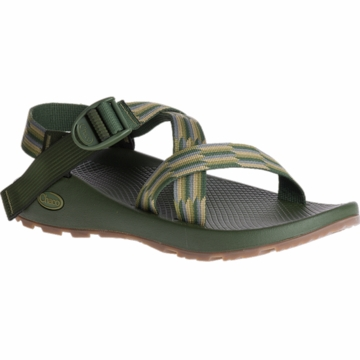 Chaco Mens Z/1 Classic Accordion Green