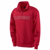 Denison Jansport 1/4 Zip Sweatshirt Scarlet