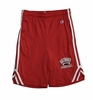 Denison Champion Attack Short with Football Red