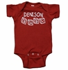 Denison Baby Infant Romper Red
