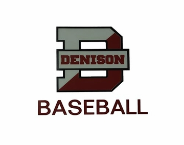 Denison Baseball Car Decal