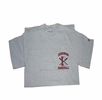 Denison Champion Baseball Tee Grey