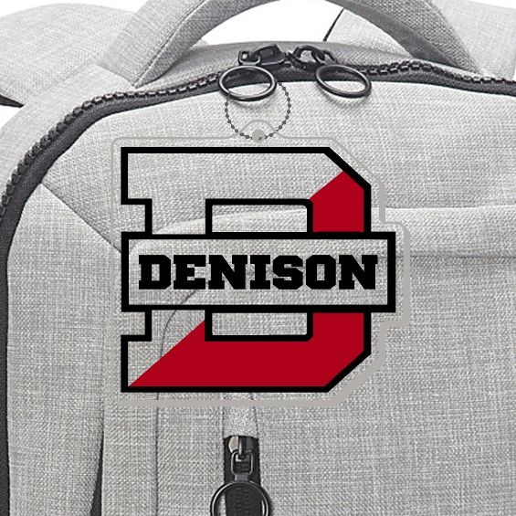 Denison Big Red Bag Tag
