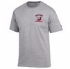 Denison Champion Baseball T-Shirt Oxford Grey