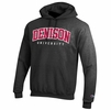 Denison Champion Embroidered Powerblend Fleece Hoodie Granite