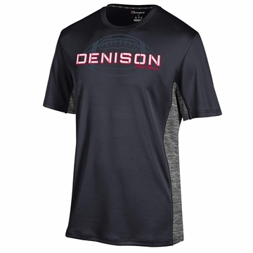 Denison Champion Football Unlimited Tee Short Sleeve Black