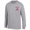 Denison Champion Lacrosse Long Sleeve Shirt Oxford Grey