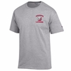 Denison Champion Lacrosse Tee Oxford Grey