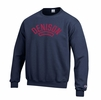 Denison Champion Powerblend Fleece Crew EST. 1831 Marine Navy