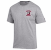 Denison Champion Soccer Tee Oxford Grey