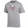 Denison Champion Softball Sport Tee Oxford Grey