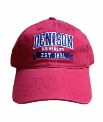 Denison Legacy Classic 1831 Hat Red