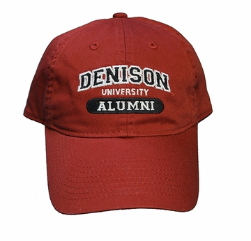 Denison Legacy Classic Alumni Hat Red