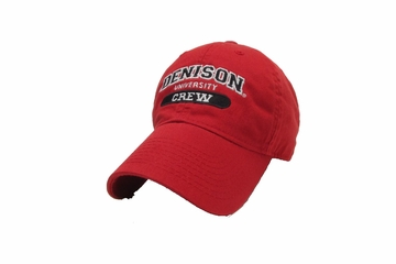 Denison Legacy Classic Crew Hat Red