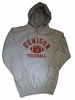 Denison MV Classic Fleece Hoodie Football Gray