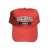 Denison Legacy Classic Golf Hat Red