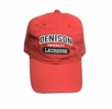 Denison Legacy Classic Lacrosse Hat Red